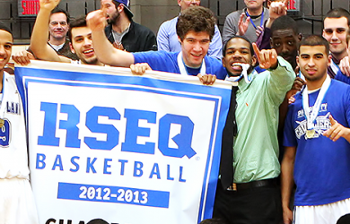 2013 RSEQ Men's Basketball Champs