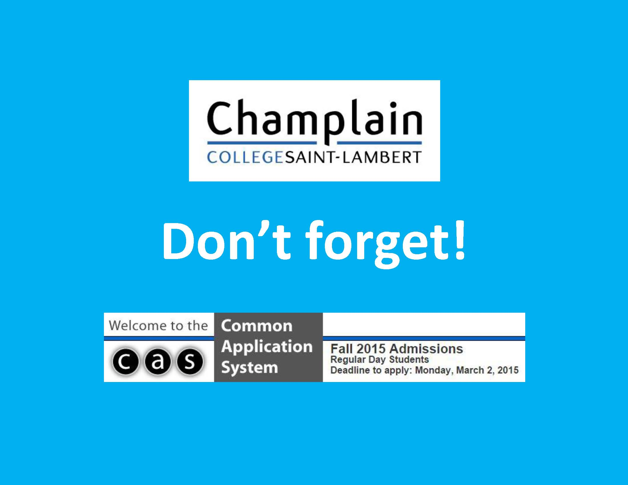 champlain college application essay Us college admissions there should be no grammar or punctuation mistakes in your college essay, and even if the college application says that the essay.
