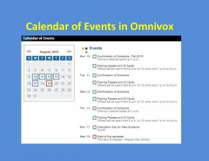 Calendar of Events 2