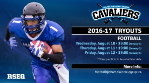 2016 FB Tryouts
